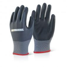 Nitrile Pu Mix Coated Glove L