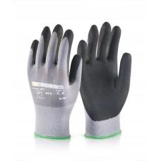 Nitrile Pu Mix Coated Glove