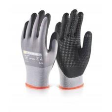 Nitrile Pu Mix Dotted Glove