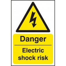 Danger Electric Shock Sav(Pk5)