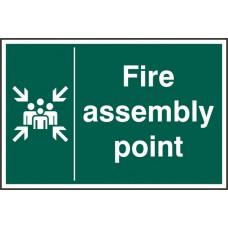 Fire Assembly Point Rpvc (Pk5)