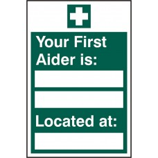 First Aider Located Rpvc (Pk5)