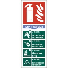 Fire Extinguisher Dry Rpvc Pk5