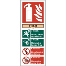 Fire Extinguisher Foam Rpvc