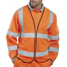 Fire Retardant Hi-Vis Long Sleeved Jerkin