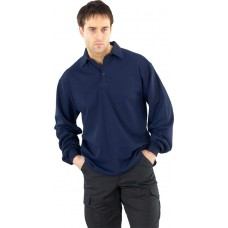 Click Flame Retardant Anti-Static Long Sleeve Polo
