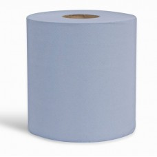 Centrefeed 2 Ply Towel Blue