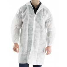 Poly Prop Disposable Visitors Coat