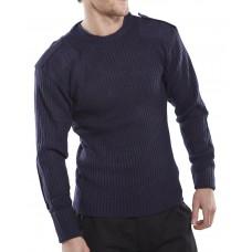 Acrylic Mod Crew Neck Sweatshirt