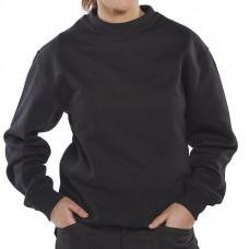 Click Polycotton Sweat Shirt
