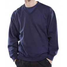 Click V-Neck Sweat Shirt