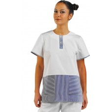 Ladies Blue Striped Tunic