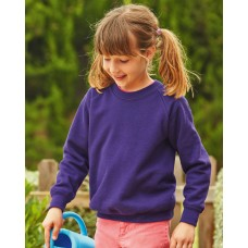 Childrens Raglan Sleeve Sweatshirt