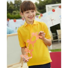 Children's 65/35 Pique Polo