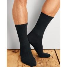 Gildan Platinum Mens Crew Socks (BLK)