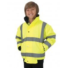 Children'S Hi-Vis Bomber Jacket