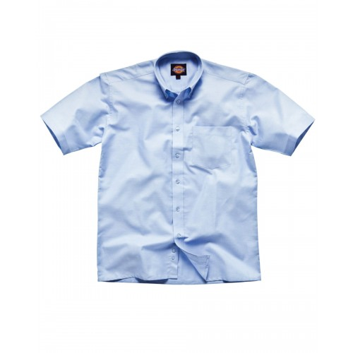 Short sleeve cotton polyester oxford shirt wolverhampton for Stafford white short sleeve dress shirts
