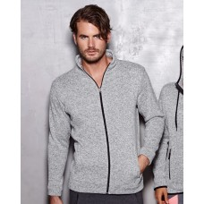 Active Men's Knit Fleece Jacket