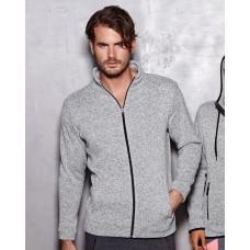 Active Men's Knit Fleece Jacket