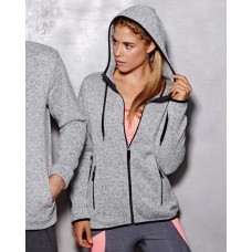 Active Womens Knit Fleece Jacket