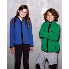 Active Childrens Knit Fleece Jacket