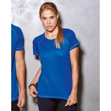 Active Womens 140 Raglan T-Shirt
