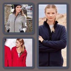 Ladies Fleeces from £12.99